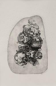 Coralie Barbier - Gravure Eau-Forte et Papier Troué