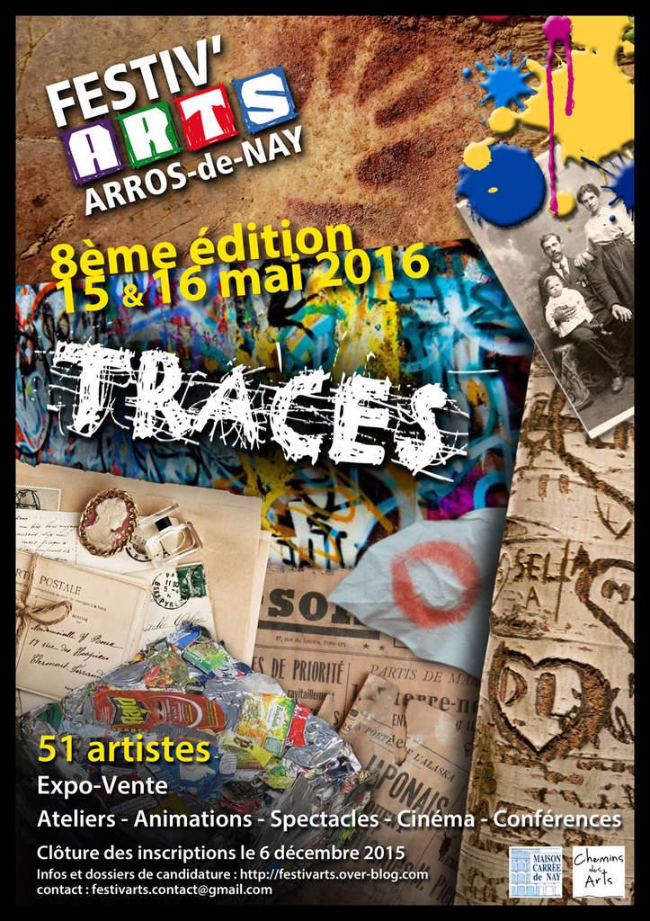 Exposition / Festiv'arts / Arros Nay / 15 et 16 Mai 2016