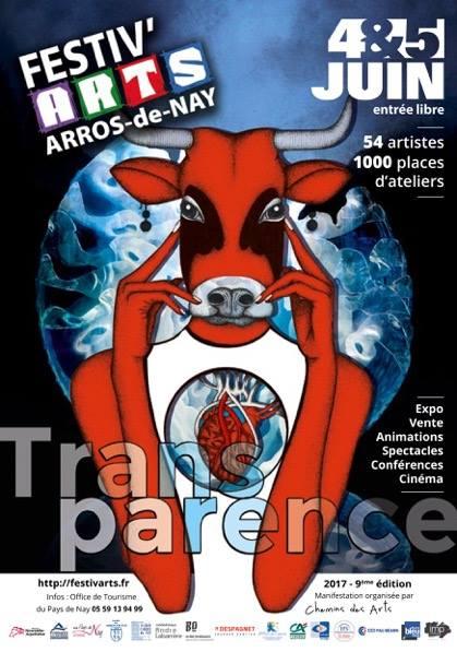 Festivarts Arros-de-Nay 64 – Pyrenees Atlantique dimanche 4 et lundi 5 juin 2017