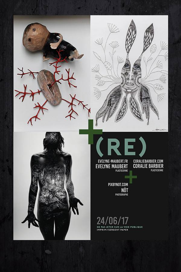 Exposition Atelier Evelyne Maubert Toulouse 24 juin 2017