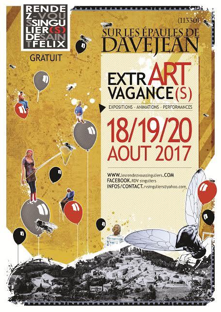 Exposition / ExtrART Vagance(s) / Rendez-Vous Singuliers / 18-19-20 Aout 2017 / Davejean (11)